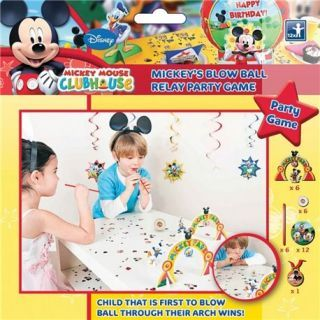 Joc Party Mickey Mouse Blow Ball, Amscan