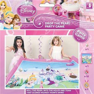 "Joc Party ""Princess Pearl Drop"", Amscan"