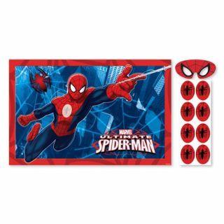 Joc party Spiderman, Amscan