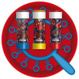 Joc party Spiderman, Frisbee & Baloane de Sapun Gigant, Dulcop