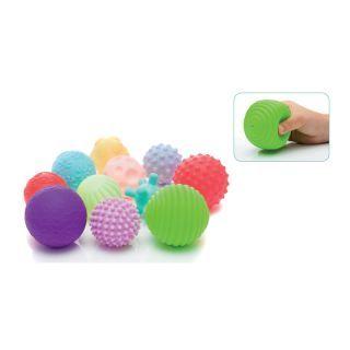 Jucarie cauciuc moale Soft balls 11 buc/set Filikid
