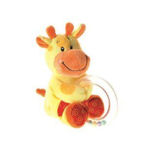 Jucarie inel cu bile si plus Girafa 0L+, Heunec A Haberkorn
