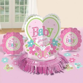 Kit decor masa Baby Girl, Amscan