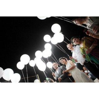 Leduri cu lumina alba pentru baloane, Amscan 9901067