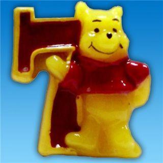Lumanare aniversara Cifra 7 pentru tort cu Winnie the Pooh, Amscan, 1 buc