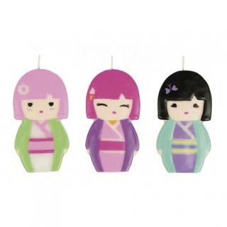Lumanari aniversare pentru tort figurine Kimmi Junior, Amscan, 1 buc