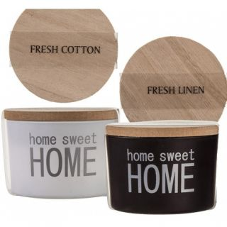 Lumanari decorative cu suport din sticla - Home, sweet home, 7,5 x 5 cm, Radar