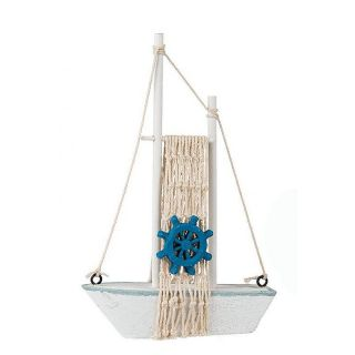 Macheta barca decorativa - 12,5 x 18 cm, Radar, 2 modele