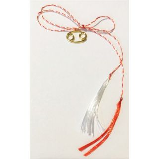Martisor handmade placat cu aur 14K, ZODIA RAC , 2 cm