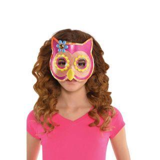 Masca pentru copii - Sequin Owl, Amscan