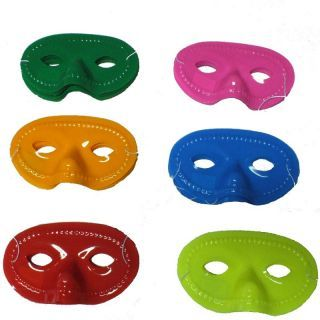 Masca plastic pentru petrecere - diverse culori, Radar