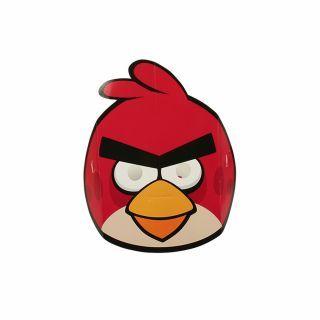 Masti Angry Birds pentru copii, Amscan , set 6 buc