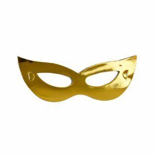 Masti metalizate aurii pentru petrecere, Radar MSA.AURIU