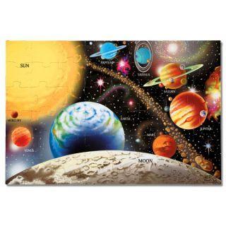 Puzzle de podea Sistemul Solar Melissa and Doug
