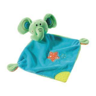 Mini paturica de somn cu jucarie Elefant Heunec A Haberkorn