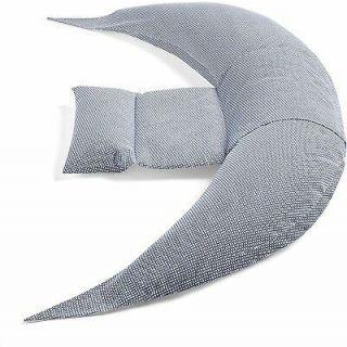 Nuvita DreamWizard Perna multifunctionala gravide si pentru alaptat 7100 - Blu Bianco
