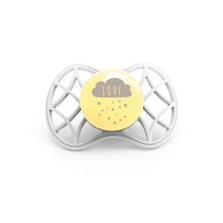Nuvita Air.55 Cool! suzeta orthodontica cu capac protector 6 luni+ - Sugar Cookie - 7084