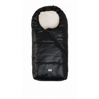 Nuvita Junior Pop sac de iarna 100cm - Eco Black Leather / Beige - 9635