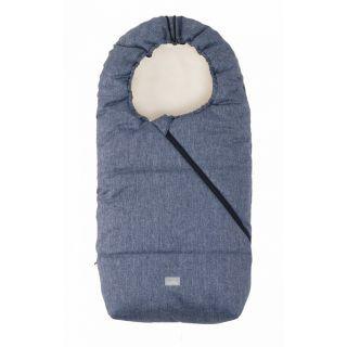 Nuvita Junior Pop sac de iarna 100cm - Pop Melange Blue / Beige - 9635