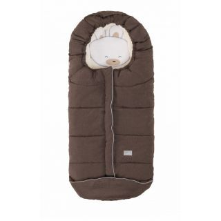 Nuvita Junior Cuccioli sac de iarna 100 cm - Rabbit Melange Brown / Beige - 9605