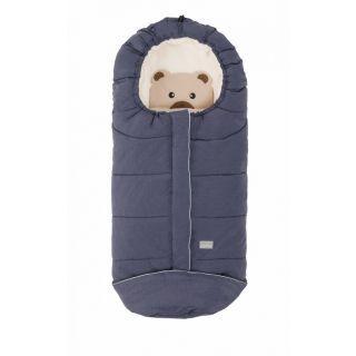 Nuvita Junior Cuccioli sac de iarna 100 cm - Bear Melange Blue / Beige - 9605
