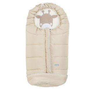 Nuvita Junior Cuccioli sac de iarna 100 cm - Giraffe Warm Sand / Beige - 9605