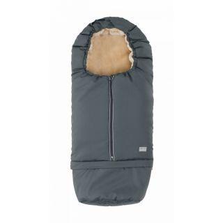 Nuvita Carry On sac de iarna 2 in 1 80/105 cm Warm Dark Gray / Beige - 9845