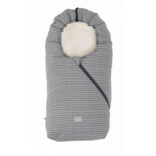 Nuvita Ovetto Pop sac de iarna 80cm - Prince of Wales / Beige - 9235