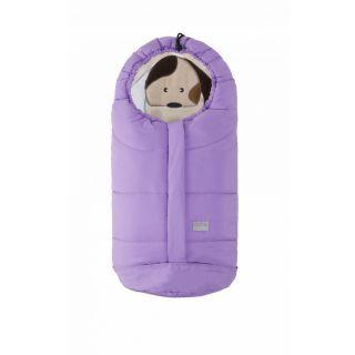 Nuvita Ovetto Cuccioli sac de iarna 80cm - Dog Purple / Beige - 9205