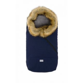Nuvita Ovetto Pop sac de iarna cu blanita 80 cm - Checkered Black / Beige - 9236