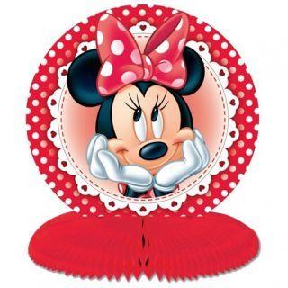 Ornament masa pentru petrecere cu Minnie Mouse - 14.5 cm, Amscan