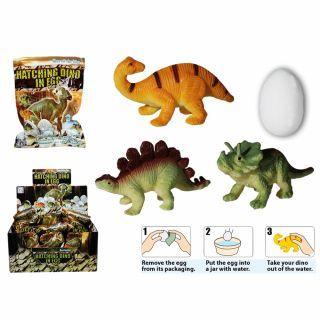 Ou de dinozaur cu efect efervescent, ca. 5 cm, Radar