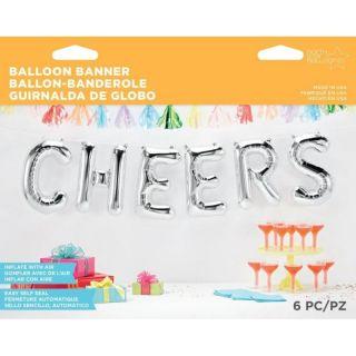 "Pachet baloane folie Cheers 16"" / 41 cm, Q 59811, Set 6 buc"