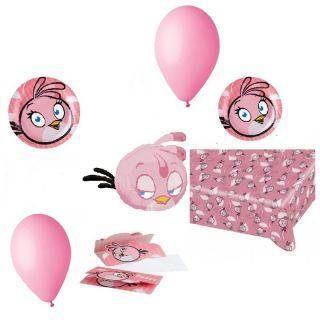 Pachet party Angry Birds Pink, Radar Pink