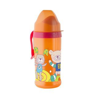Pahar varf moale CoolFrends Rasberry 360ml.12L+ Rotho-babydesign