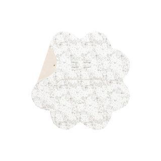 Paturica floare imprimata Ecru Wallaboo