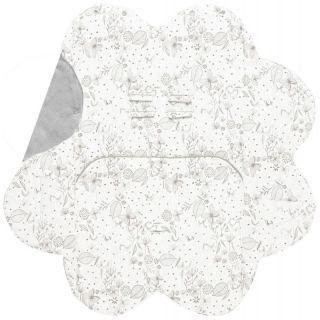 Paturica floare imprimata Grey Wallaboo
