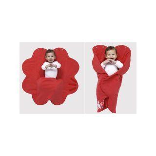 Paturica floare Soft Poppy red  Wallaboo