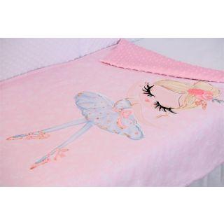 Paturica model balerina, roz pal
