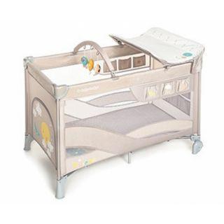 Baby Design Dream 09 Beige 2020 - Patut Pliabil cu 2 nivele