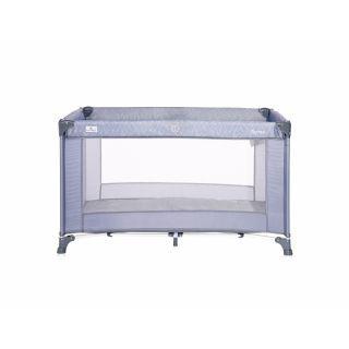 Patut pliabil Torino, 1 nivel, Silver Blue