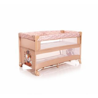 Patut pliabil, Up and Down, laterala culisanta, Beige Foxy
