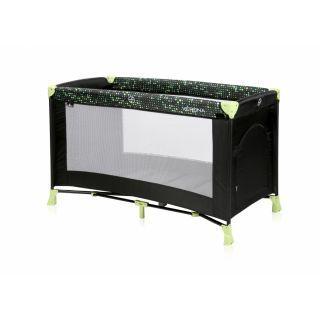 Patut VERONA 1 nivel, Black & Green Dots