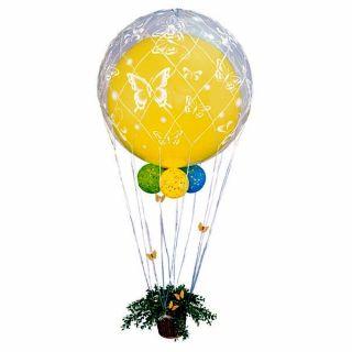 Plasa alba pentru baloane jumbo de 60 cm, Radar 60643, 1 buc