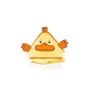Prosop brodat Duck, yellow , 75x75cm. Fillikid