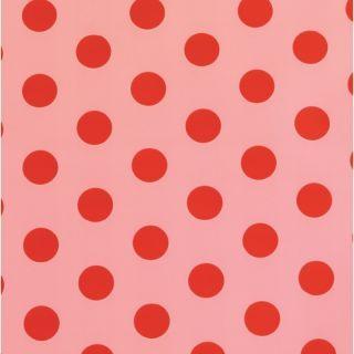 Punga cadou buline - roz/ rosu, Radar 856PCCK4NRO, 25 x 40 cm