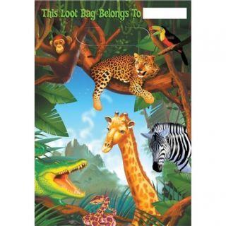 Pungute pentru cadouri copii la petreceri - Safari Party, Amscan