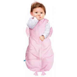 Sac de dormit Fun Animal  2in1 chicky pink -3-6 luni- Wallaboo
