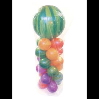 Saci pentru buchet baloane - 74 x 102 cm x 127 cm, Qualatex 87048