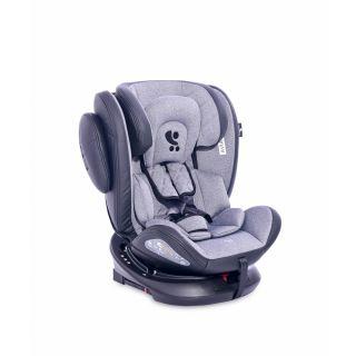 Scaun auto AVIATOR SPS Isofix, Black & Light Grey